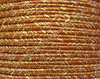 Textil - Soutache METALLICUM - 3mm - Aurum Terracotta (Terracota Aurum) (100 metros)