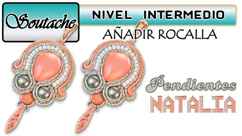Kit YouTube - Pendientes de Soutache Natalia - Color 01